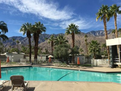 Photo for LUXE Condo Suite at Famous Ocotillo Lodge in Palm Spring