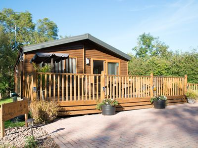 Photo for Woodys Lodge with deluxe Hot Tub (Felmoor Park)