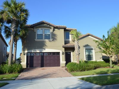 Photo for Fabulous 8Bed/6Bath Home near Disney on New resort with fantastic amenities