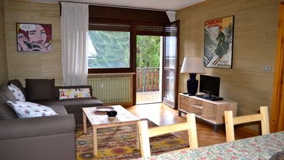 Photo for Brand new three-room apartment a stone's throw from the slopes (you can get there on foot!)