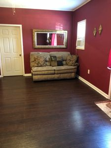 Three bedrooms fully furnished.