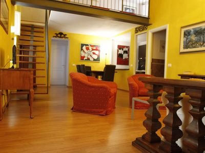 Photo for FABULOUS 2 BDR LOFT WITH ALL COMFORTS - INCL. LIFT! - IN GREAT OLTRARNO LOCATION