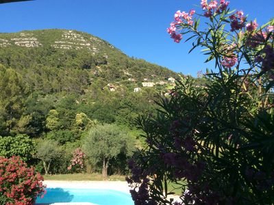 Photo for Traditional Villa Provençale. Beautiful countryside view.