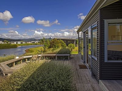 Photo for Golfers Lake Retreat - Matarangi Holiday Home