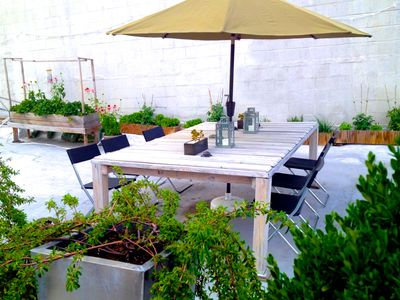 Photo for Designer's Home and Private Rooftop Garden