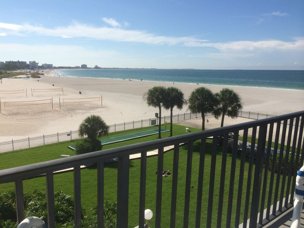 st pete beachfront condo awesome panoramic views 2 private bedroom