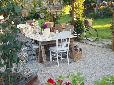 Photo for Country dwelling set in divine garden setting.