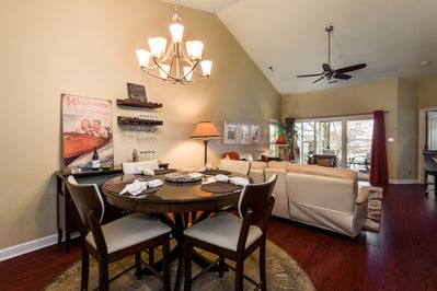 Great room with wonderful vaulted ceilings