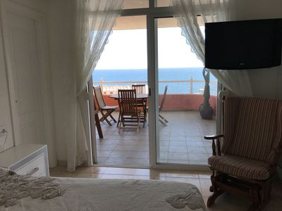 Photo for Beautiful apartment in front of the ocean