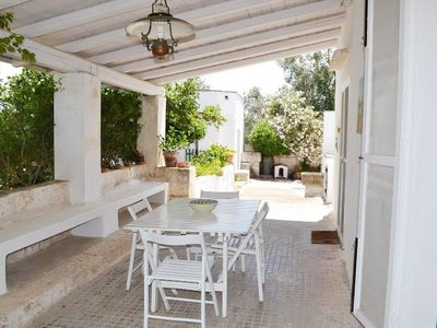 Photo for House 760 m from the center of Casarano with Washing machine, Air conditioning (1014829)