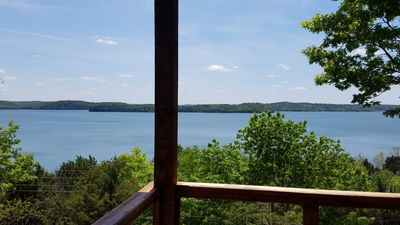 Photo for FOX DEN - AMAZING Lake Views! Lakefront, 4 bedrooms + 3 full baths