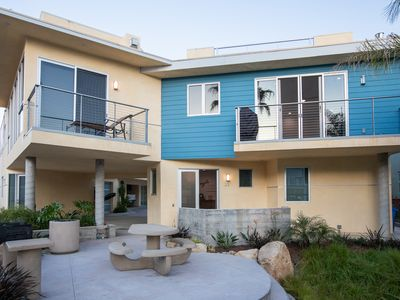 Photo for Luxury Avila Beach Condo,  roof top patio, couch, heater, fire pit & hot tub.
