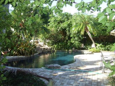 Photo for One Block off the beach - Tropical Backyard w/Private Luxury Pool 8/10-8/17 Sale