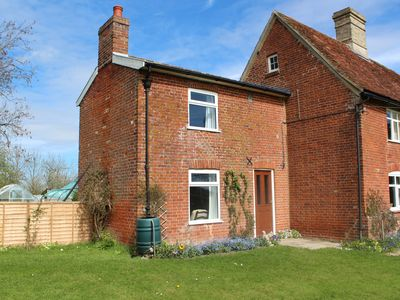 Photo for Tranquil Cottage adjoining rural farmhouse 5 miles from Suffolk Coast