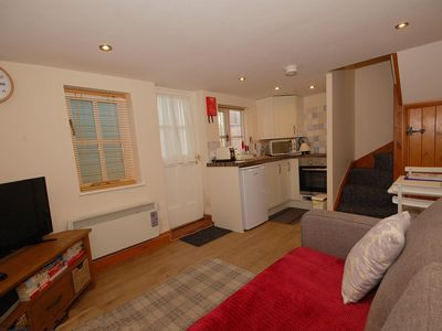 Photo for 2 Museum Cottages - traditional flint cottage, a cosy, romantic retreat in the heart of Sheringham,