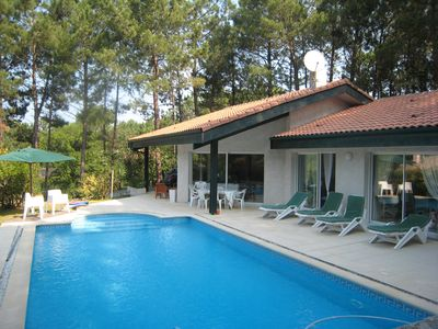 Photo for VERY COMFORTABLE VILLA ON THE GOLF OF BISCARROSSE