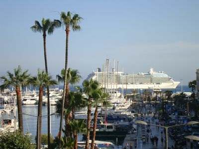 Photo for Exceptional setting, Charming apartment ♥ Cannes Old Port foot Suquet