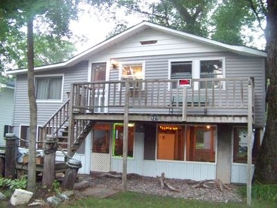 Front of Cabin,     127 Packer Drive    River of Lakes    Bagley, WI
