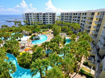Photo for DESTIN WEST - BAYSIDE - LAZY RIVER, 7 POOLS, FAMILY FRIENDLY PARADISE!