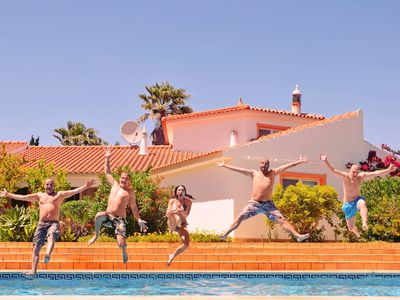 Photo for House, 7 double beds, 7 baths, private pool, ideal for groups of max 20 persons