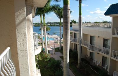 View of Sarasota Bay from balcony