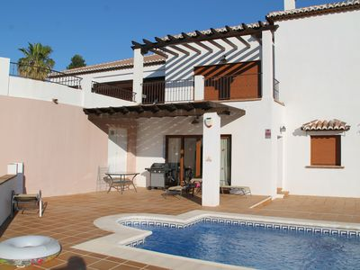 Photo for Frigilana- Beautiful 2 bed Villa with Private pool and spectacular views