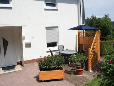 Photo for 4 star holiday house Antonia, central, close to town, located directly on the Werratalradweg