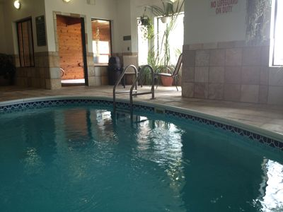 Photo for Indoor Pool, Ski Slopes, Mountain Views, Amazing Family Vacation!