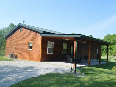 Photo for Cabin #25 Arcadia with game room  located on Patoka Lake in Southern Indiana