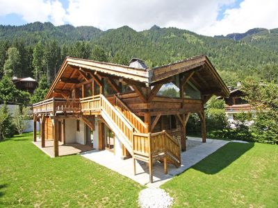 Photo for Chalet Les Praz -  a self catered chalet that sleeps 8 guests  in 4 bedrooms