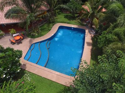 Photo for 2 Bedroom Pool House, Car Service