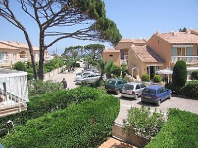 Photo for SAINTE MAXIME GARDEN APARTMENT 7 PERSONS IN RESIDENCE FACING THE BEACH