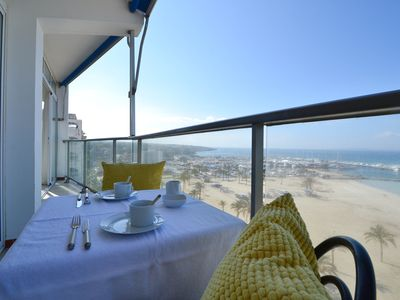 Photo for HABANA. Large apartment with direct sea views located in S´Arenal.