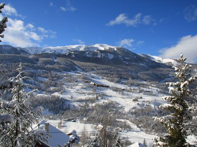 Photo for very nice cozy cottage south 2-7 people, view of ski area