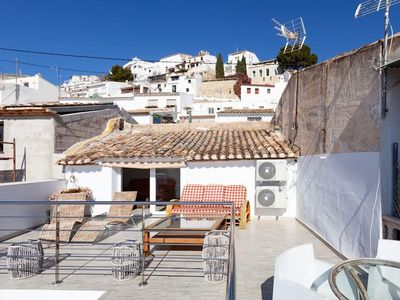 Photo for Casa Roberto, Altea Old Town Center with sea views 2 steps from the beach