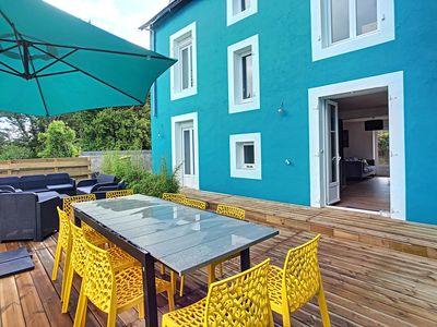 Photo for House in Morgat, the beach on foot, 14 pers.