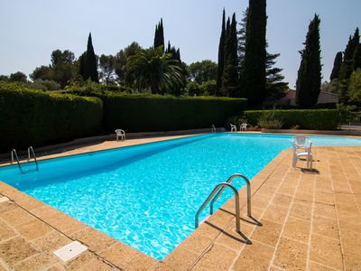 Photo for Cannes Luxurious 5 bedroom/4 bathroom Villa - Communal Pool & A/C