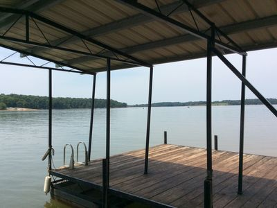 Photo for Lakefront Home, 6BR/4BA, Deep Water/Dock, Perfect for Multi-Family Stay