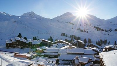 Photo for Rent 2p 5 pers center beautiful plagne MAGNIFICENT VIEW