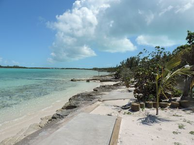 Photo for NEW Beach Front $215. nite, George Town, HURRICANE PASTED EXUMA BY!