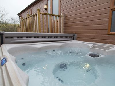 Enjoy a relaxing dip in the hot tub