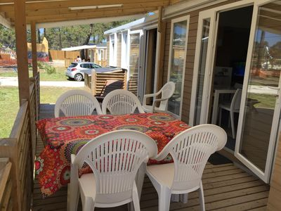 Photo for Atlantic Club Luxury Mobile Home Montalivet 5 * 6 persons
