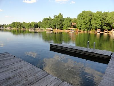 Photo for Ideal Lakefront Apartment 5 miles to Westlake