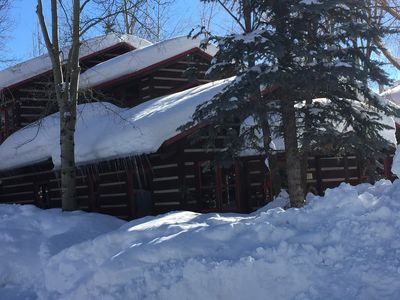 Photo for Spacious log home near Grand Teton National Park
