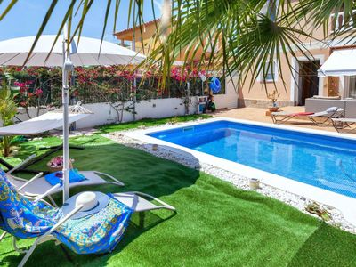 Photo for Beautiful private villa for 6 guests with private pool, WIFI, TV, balcony and parking