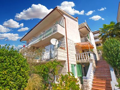 Photo for Holiday apartment Rabac for 6 - 7 persons with 3 bedrooms - Holiday apartment