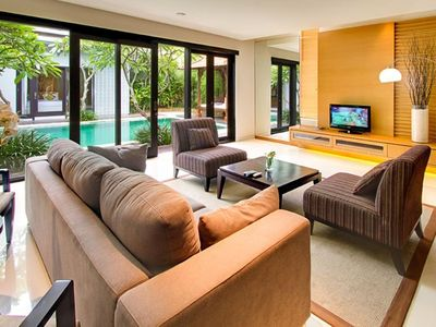Photo for 1BDR villa with shared pool Seminyak