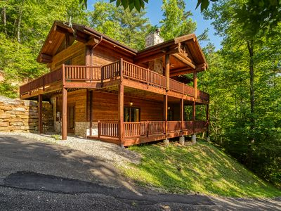 Photo for 2BR Cabin Vacation Rental in Bryson City, North Carolina