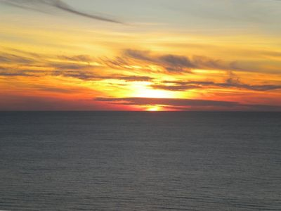 Photo for Breathtaking Views of the Ocean and Sunset from 22nd Floor!!!