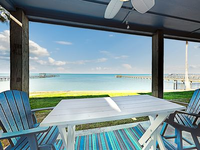 Photo for New Listing! Brand-New Bayfront Condo w/ Pool, Dock, Pier & Patio
